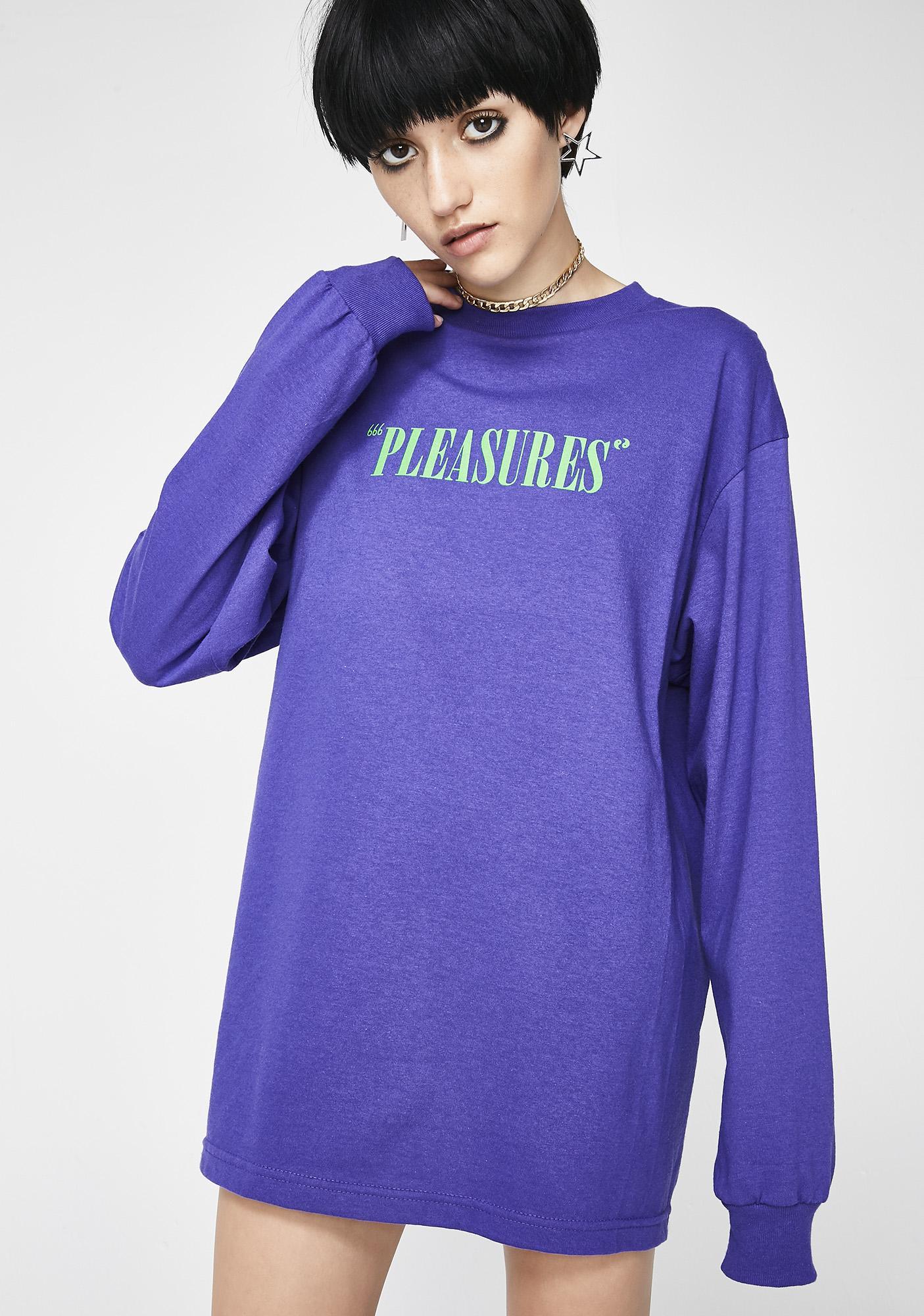 Pleasures Mark Of The Beast Long Sleeve T-Shirt