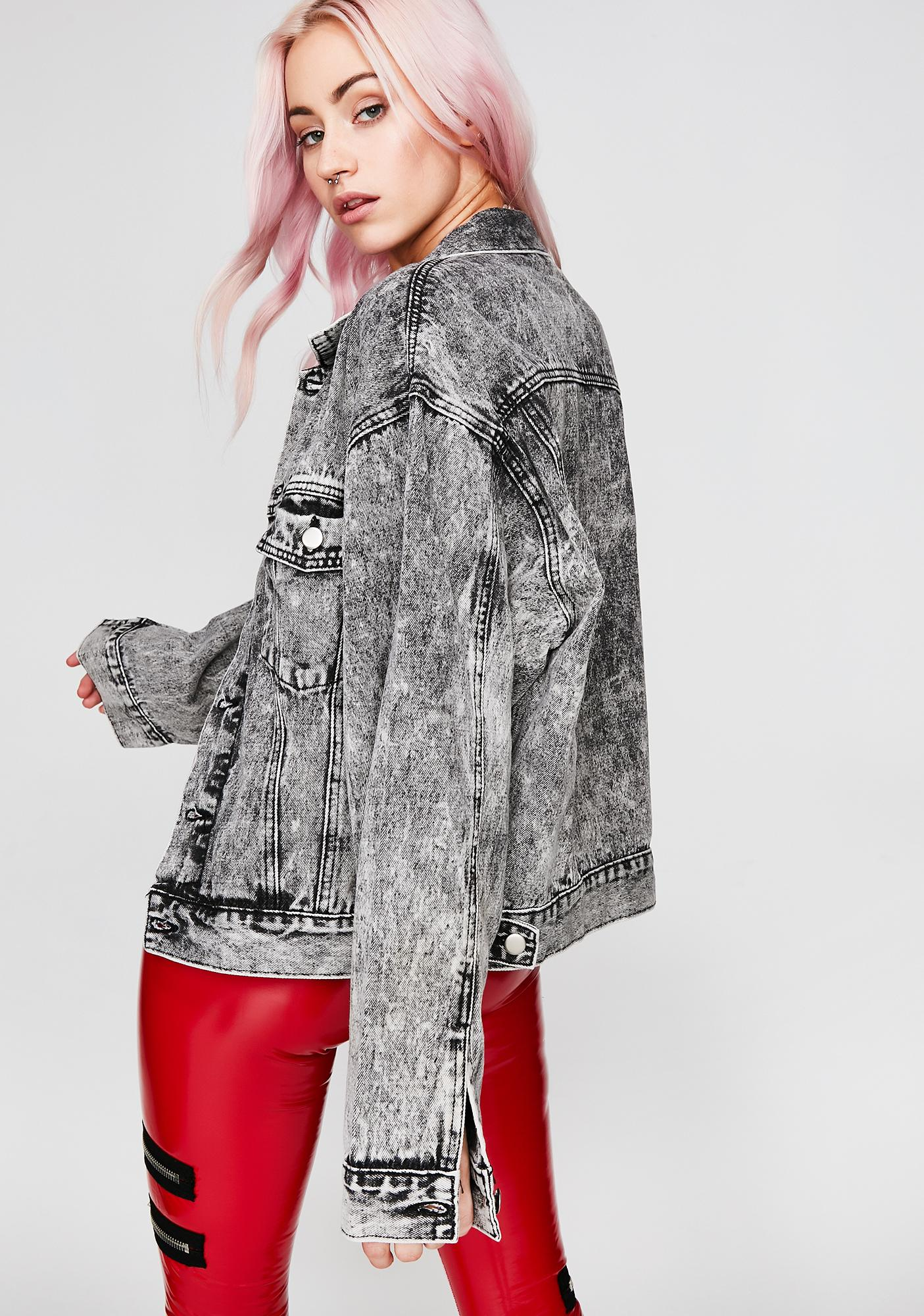 Cloudy Let'z Ride Denim Jacket