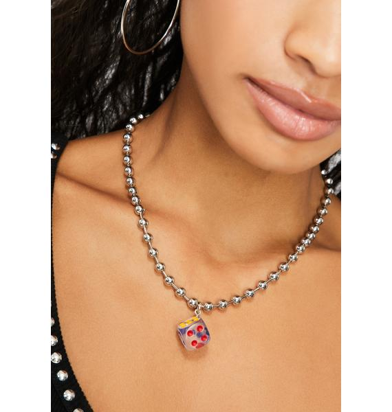 Luck Out Ball Chain Necklace