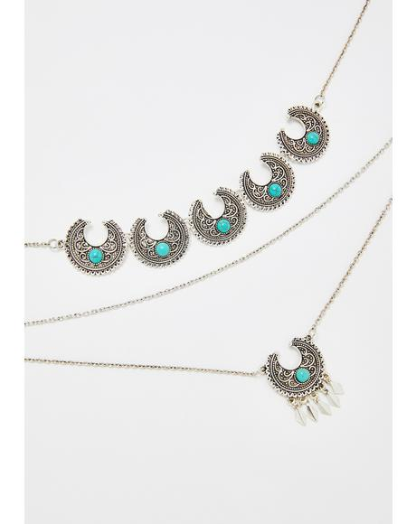 Desert Dreams Layered Necklace