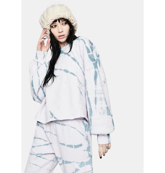 Wildfox Couture Olivia Tie Dye Sweatshirt