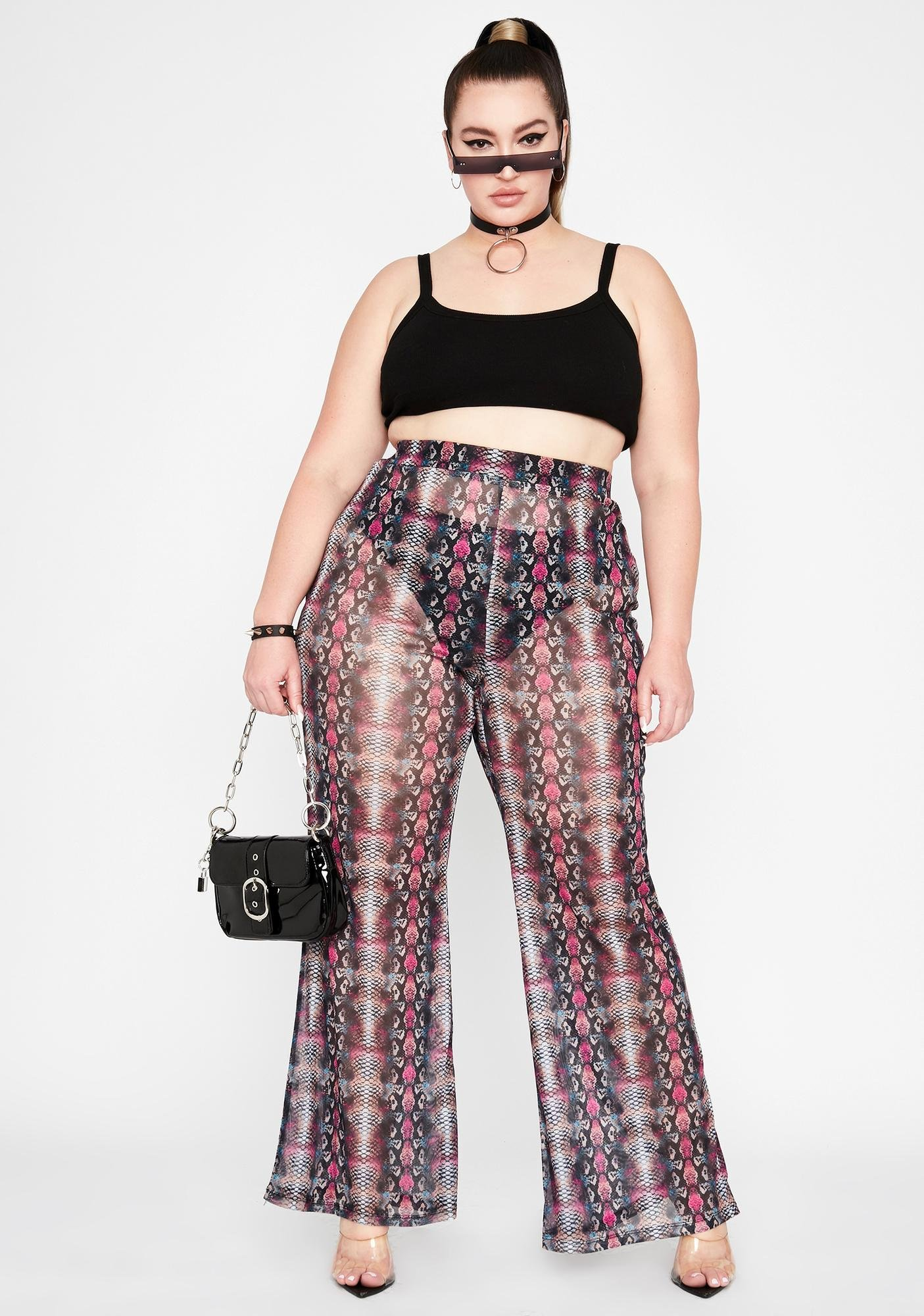 Her Poisonous Potential Sheer Pants
