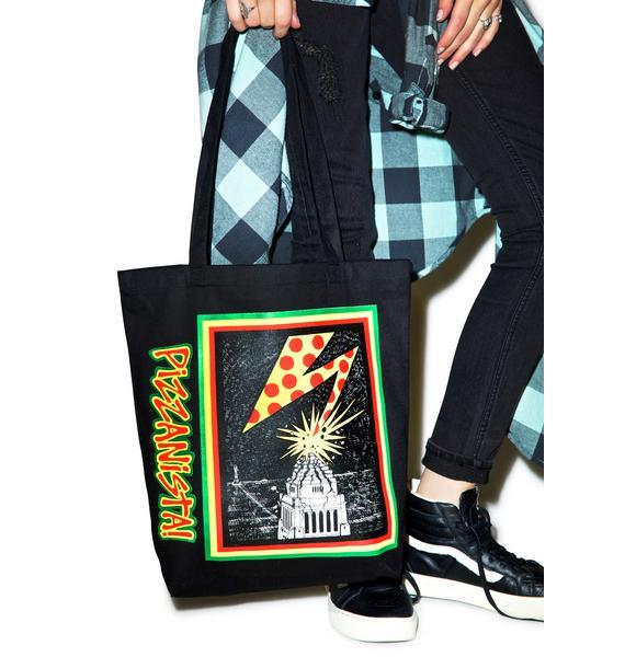 Pizzanista Pizzanista Tote Bag