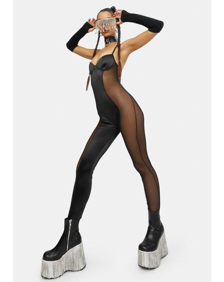 Shadow Dreams Mesh Catsuit