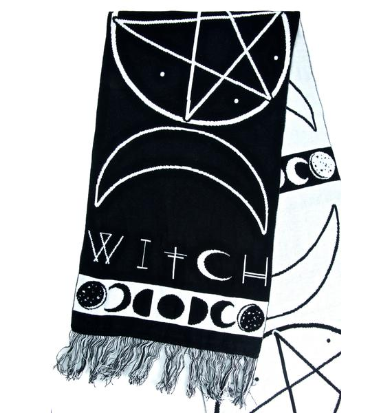 Witch Knit Scarf