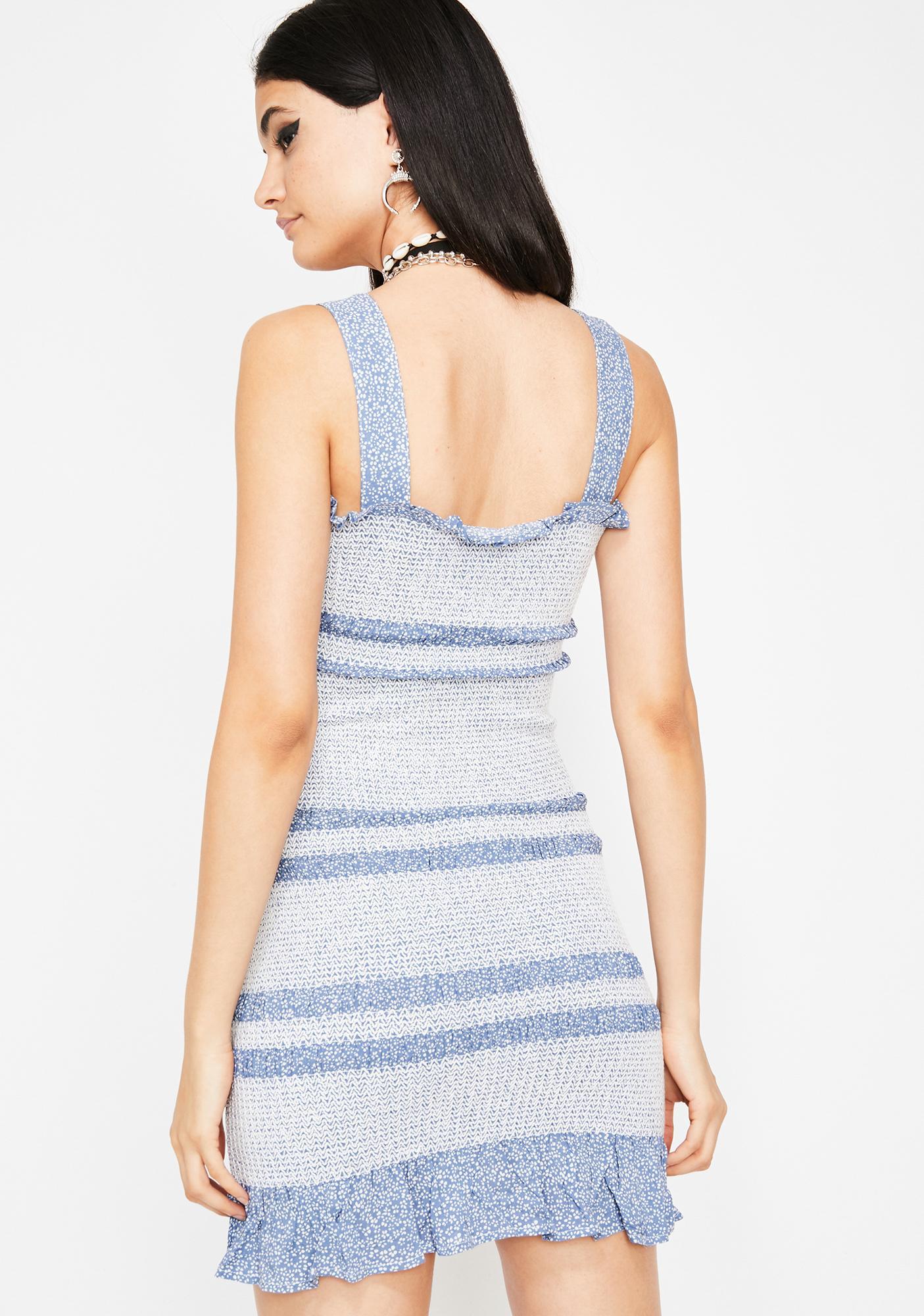 Sky Exotic Stargazer Mini Dress