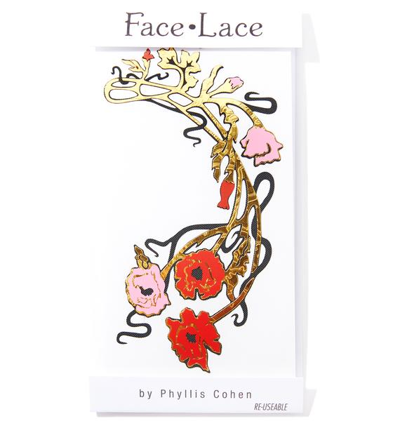 Face Lace Decorsage 2 Face Lace