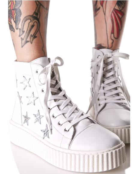 Richmond High Top Star Sneakers