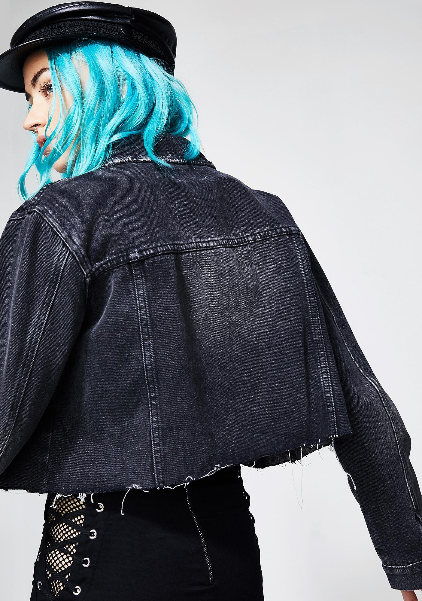 Twiin Overcast Cut-Off Denim Jacket