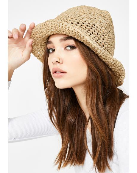 Broad Horizons Crochet Bucket Hat