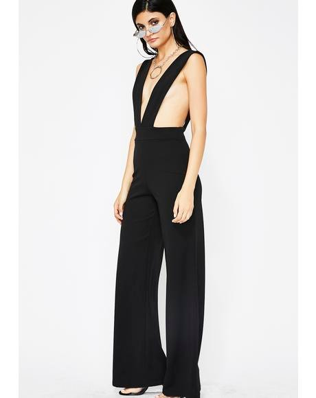 Main Event Cut Out Jumpsuit
