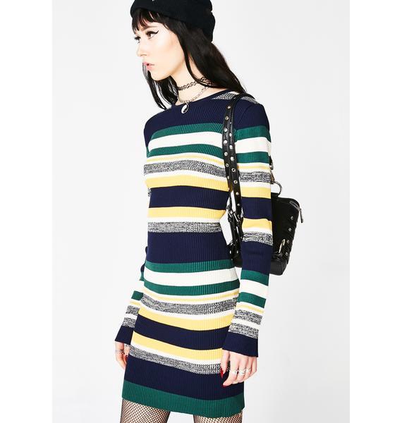 Bad Remedy Striped Dress