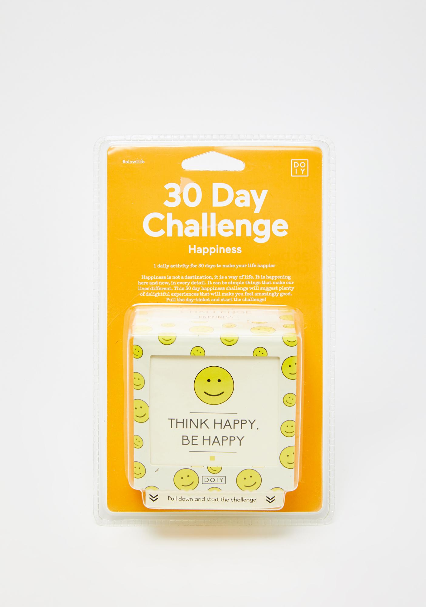 Manifesting Happiness Challenge Box