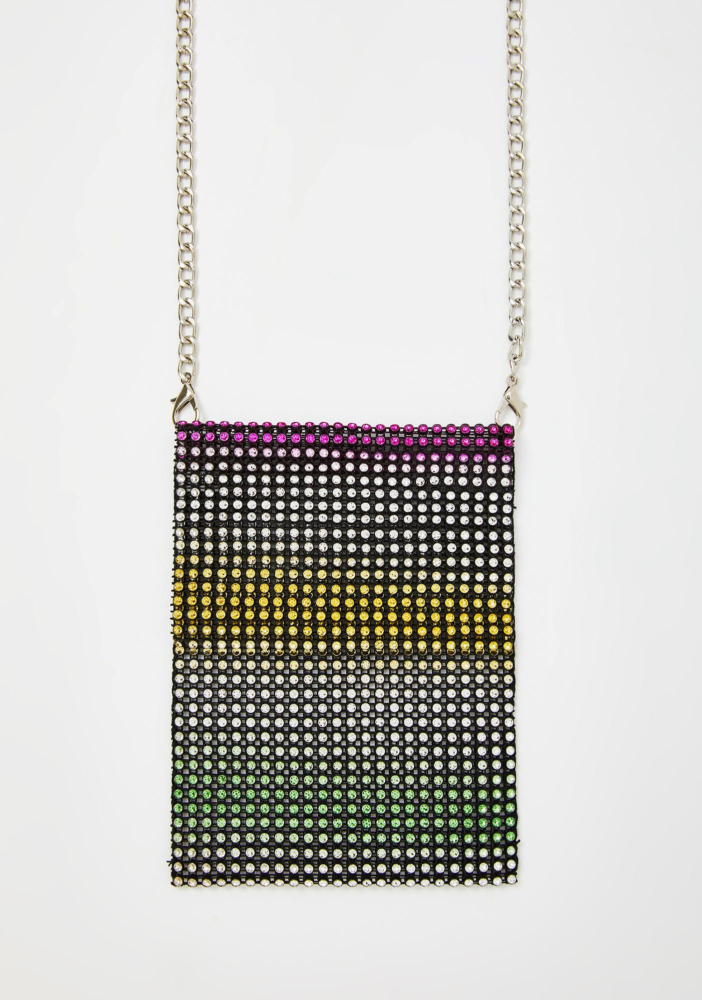 Glam Moment Rhinestone Bag