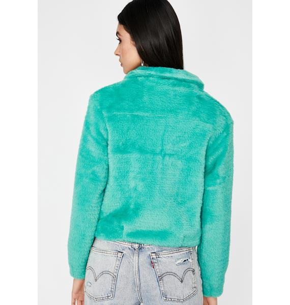 Lush Letz Cuddle Sherpa Jacket