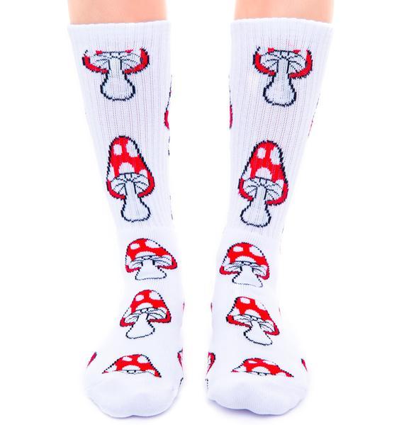 HUF Magic Crew Sock