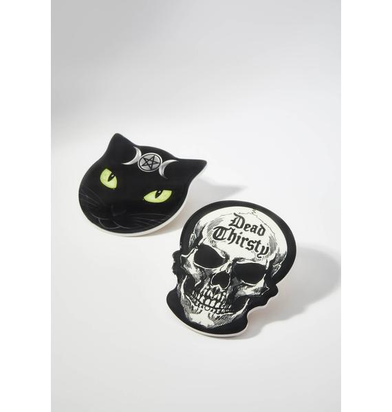 Alchemy England Dead Thirsty Skull Coaster