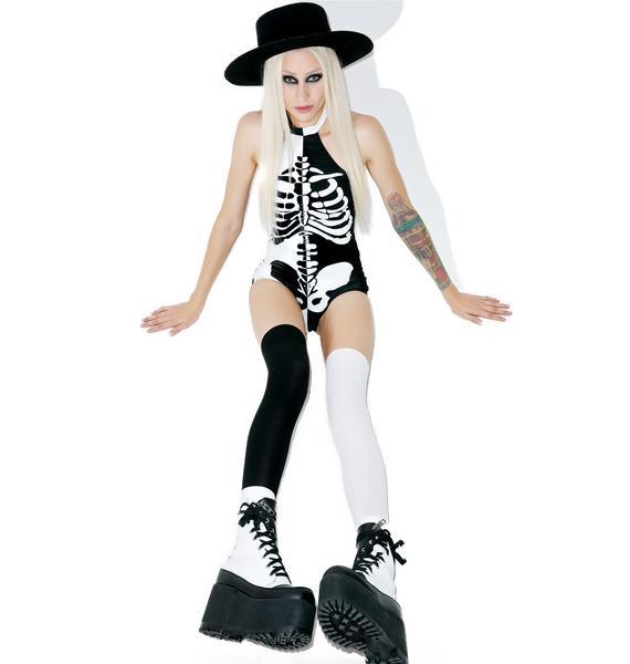Dolls Kill Halflife Bodysuit