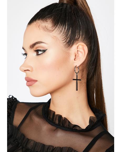 Praypal Hoop Earrings