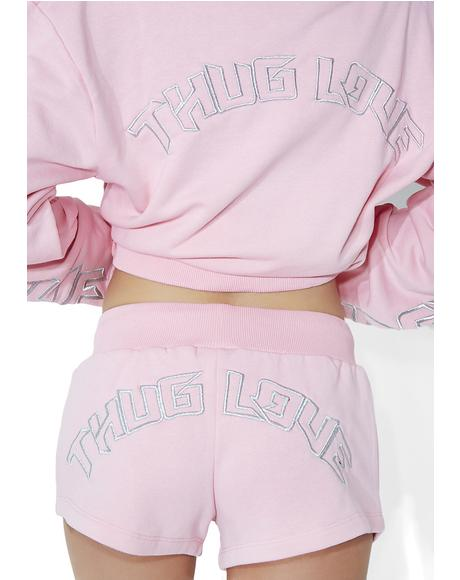 Thug Love Mini Shorts