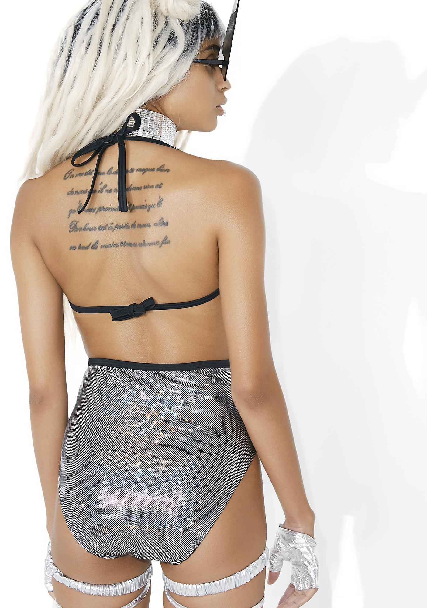 Mi Gente Clothing La Tortura Laser Beam Bodysuit