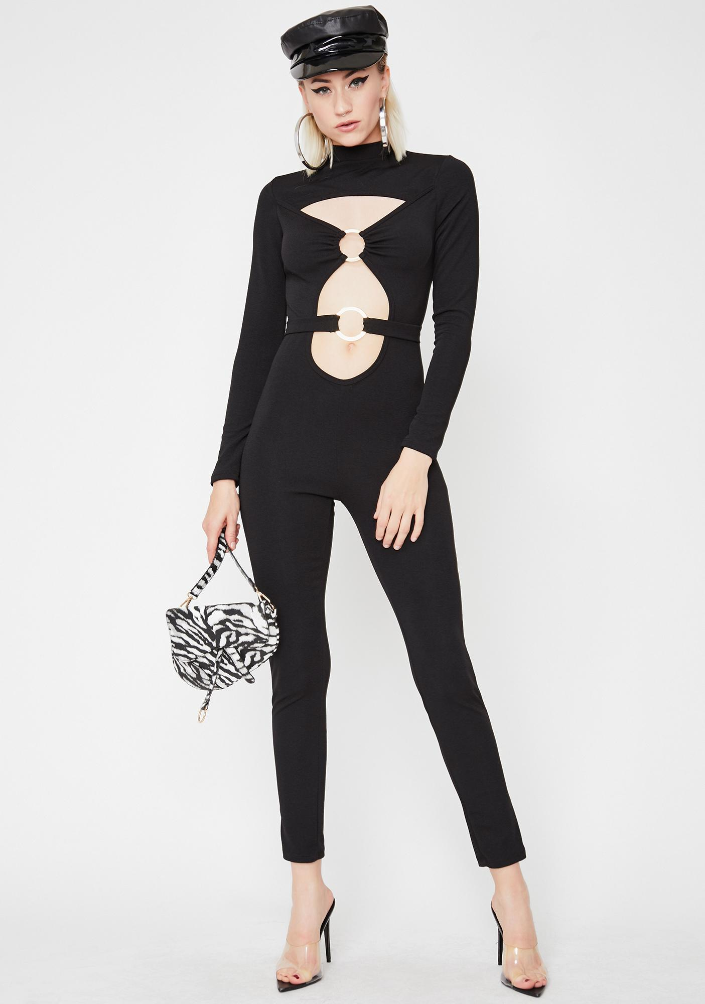 A La Mode O-Ring Catsuit