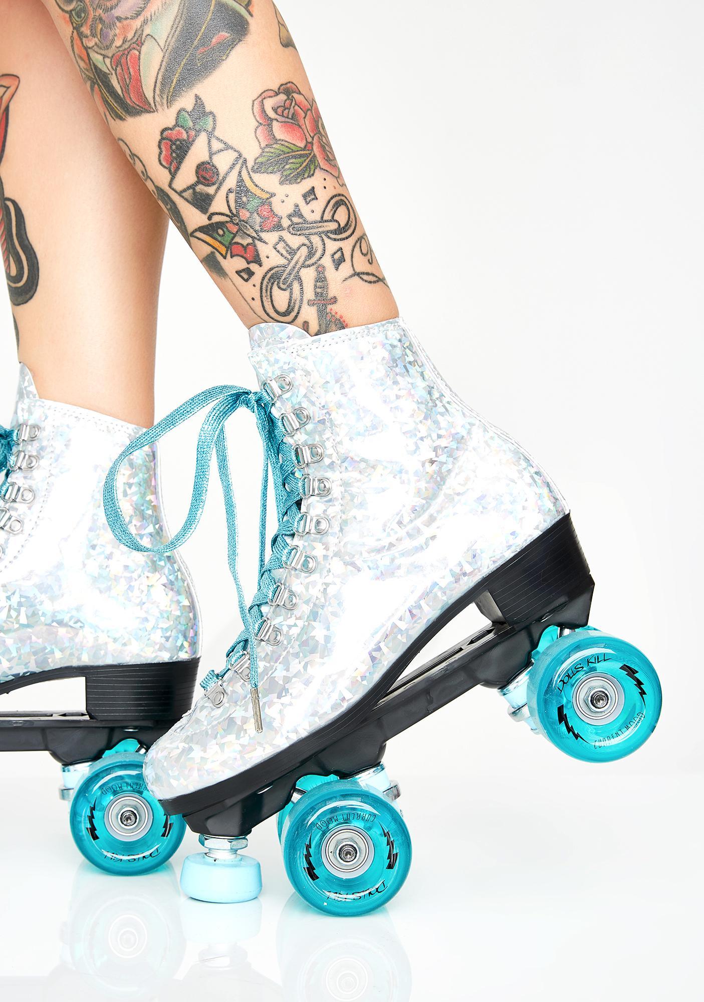Bondage skate roller
