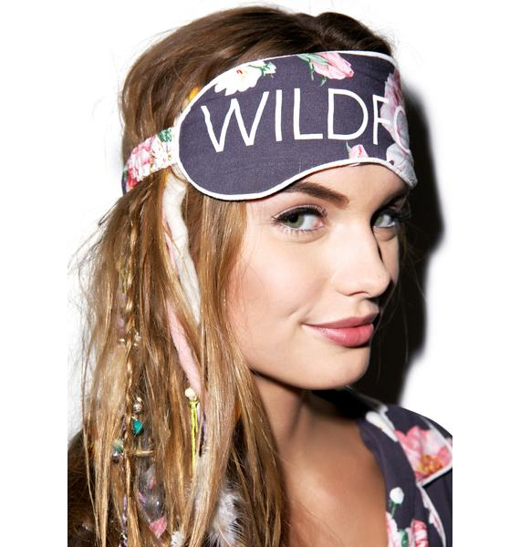 Wildfox Couture Austen Rose Eye Mask