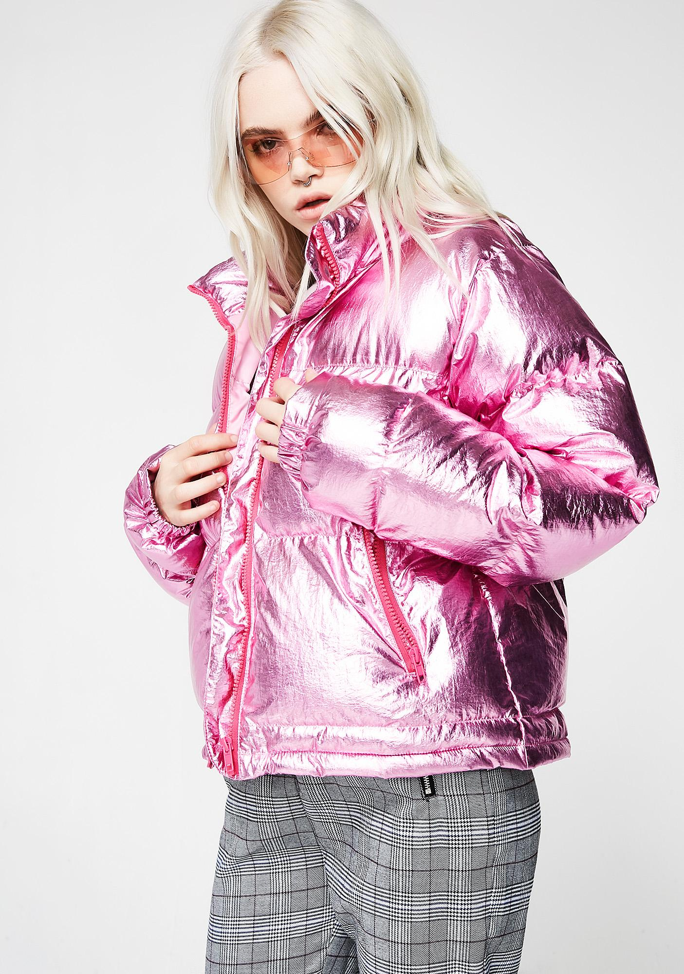Sugar Thrillz Show And Tell Puffer Jacket