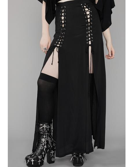 Dark Eternity Maxi Skirt