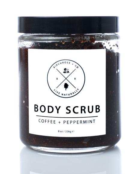 Coffee + Peppermint Body Scrub