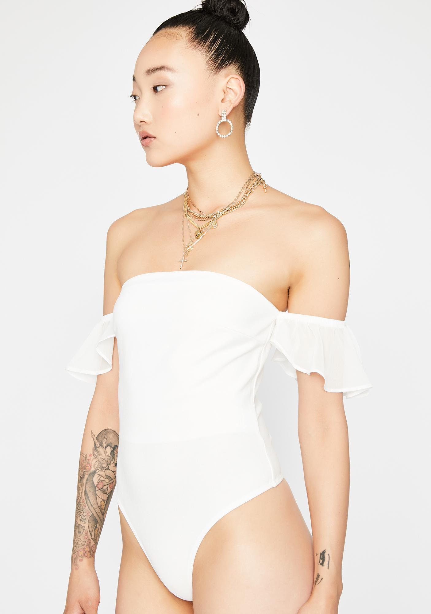 Purely Simple Luv Strapless Bodysuit