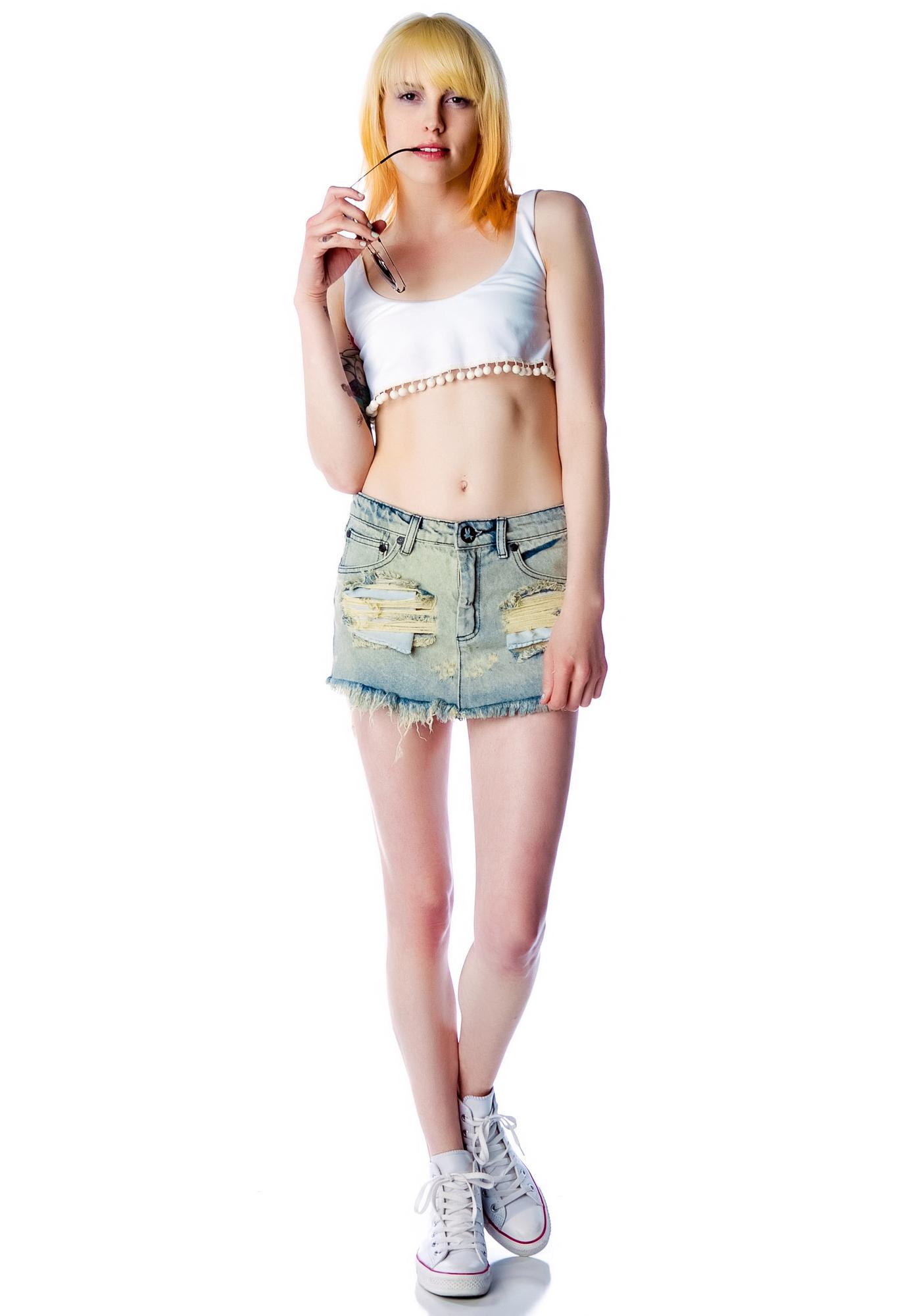 One Teaspoon Jax Mini Skirt