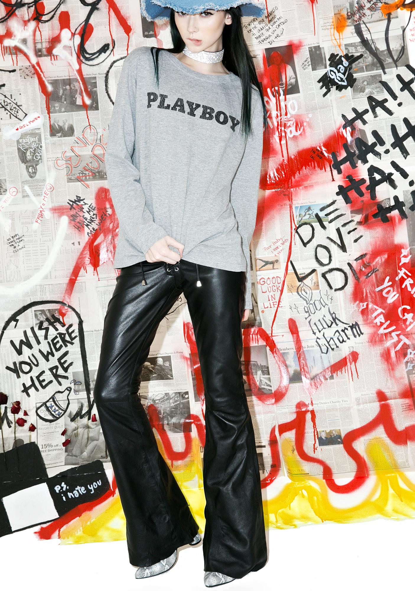 Vintage Playboy Long Sleeve Tee