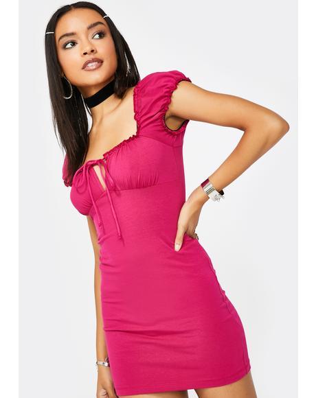 Cherry Gaina Mini Dress