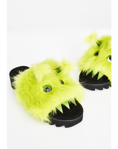 Eaten Alive Monster Slippers