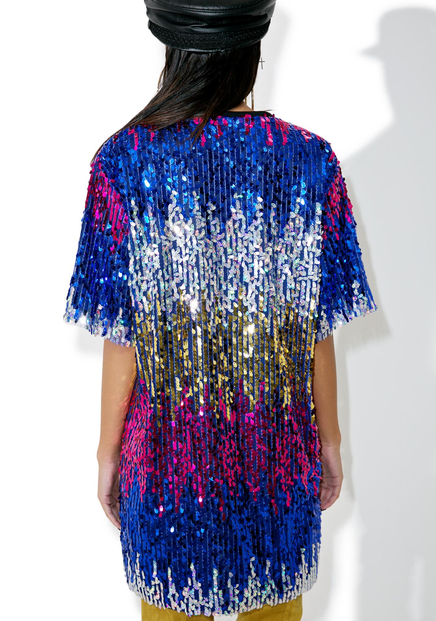 Gimme Bubbly Sequin Tee