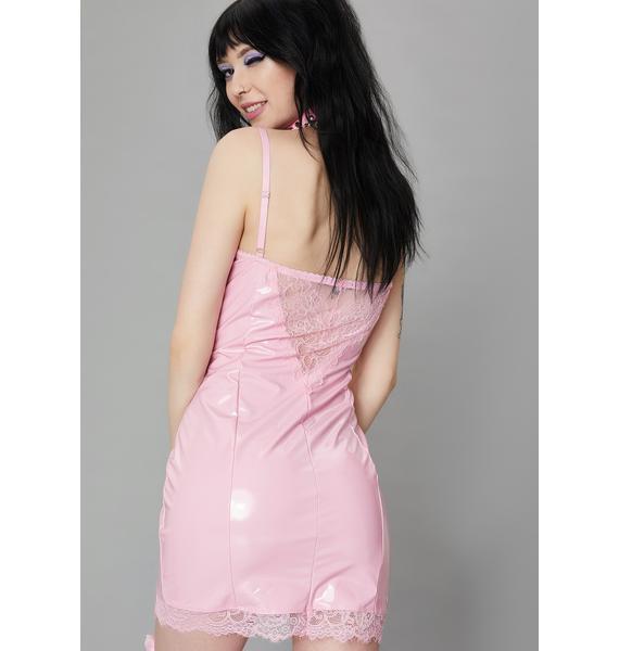 Widow Blessed & Possessed Vinyl Dress