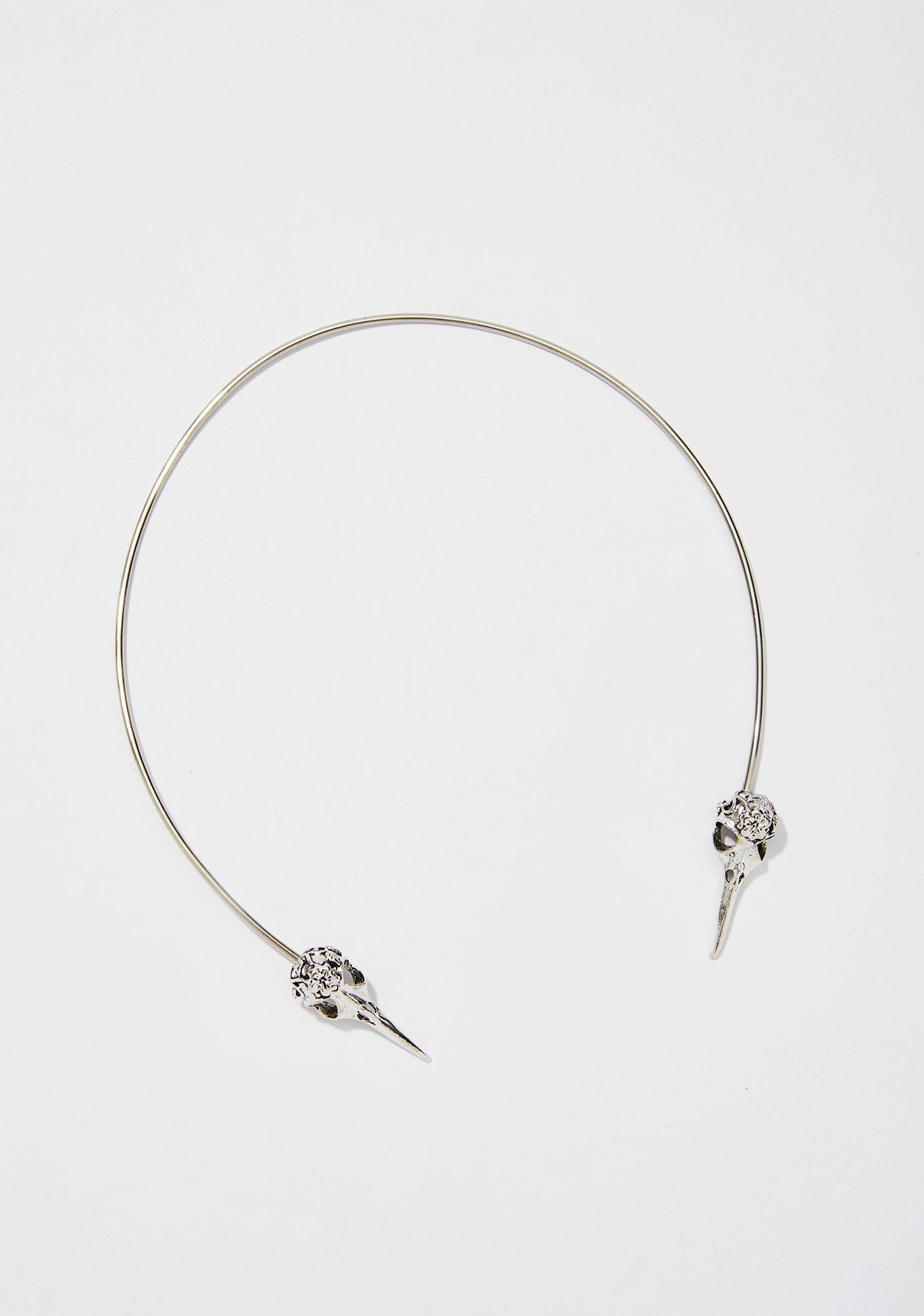 Ayalga Crow Torc Necklace