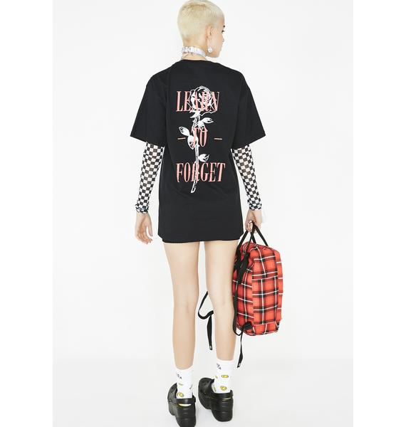 Learn To Forget Nu-Rose Tee