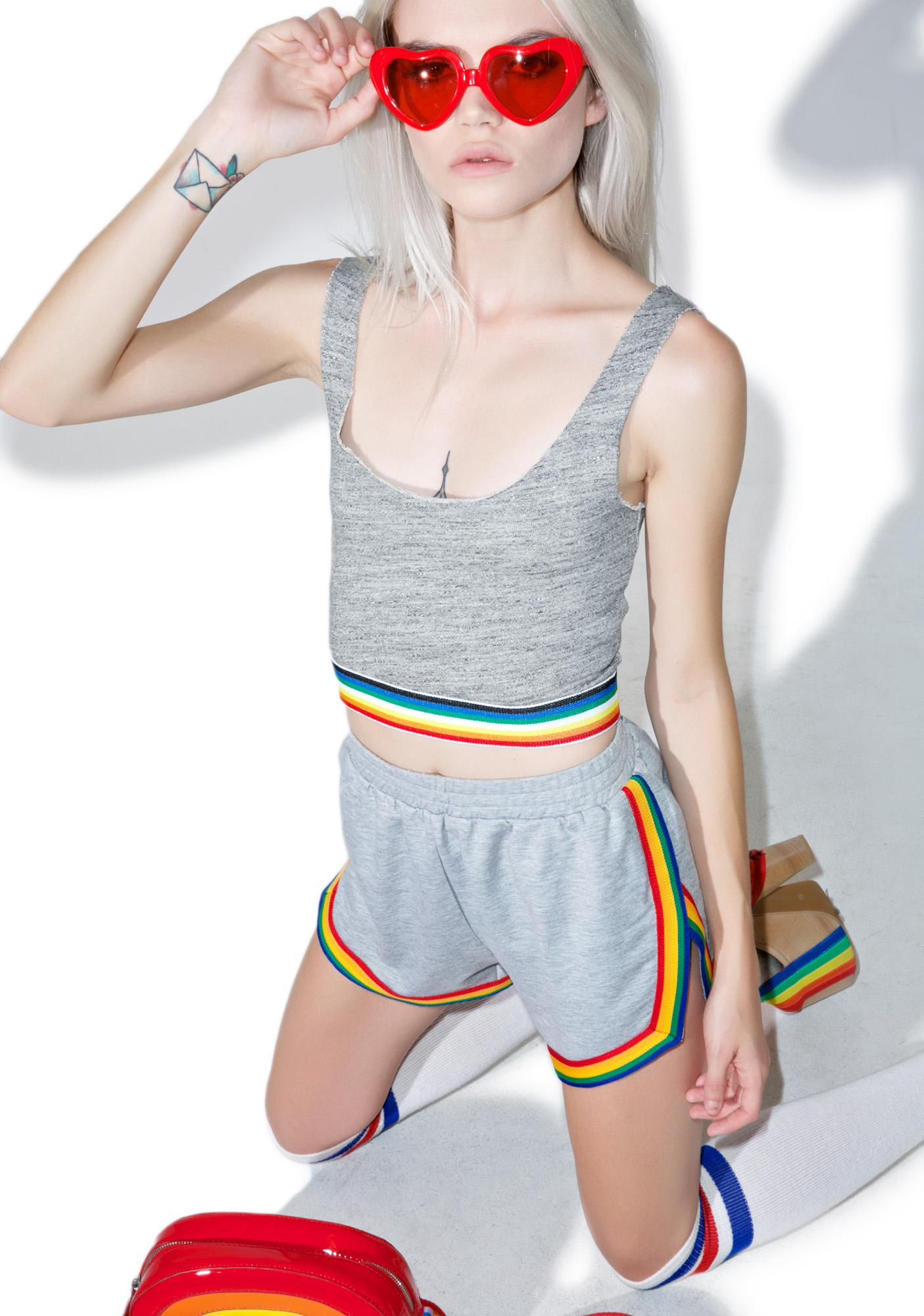 Camp Collection Rainbow Bralette