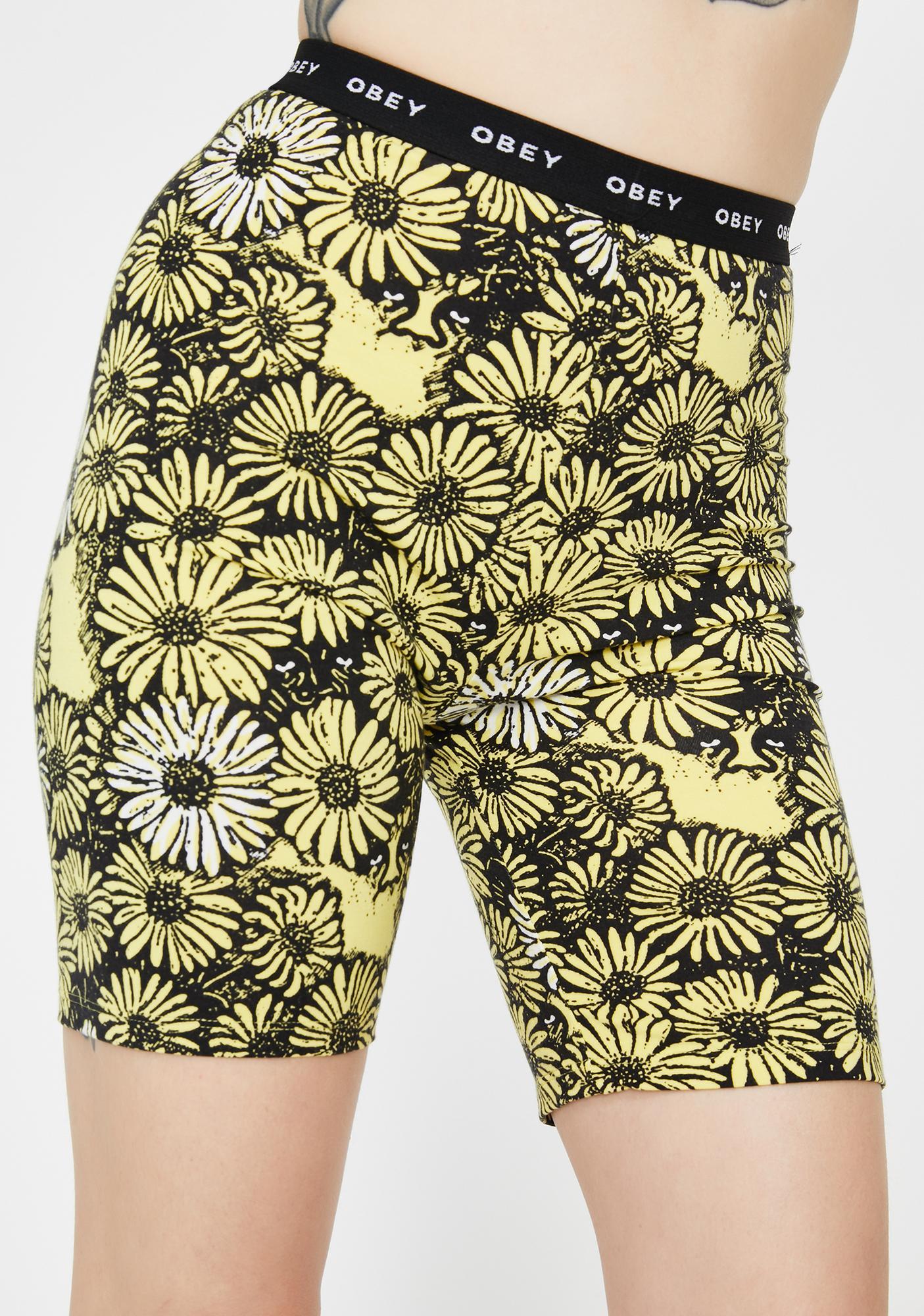 Obey Uptown Biker Shorts