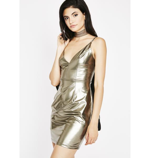 Gunmetal Big Bang Dress