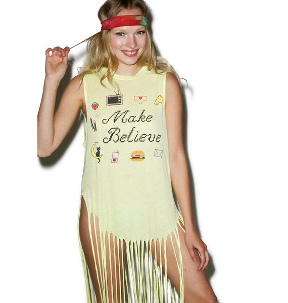 Wildfox Couture Make Believe Gypsy Tank