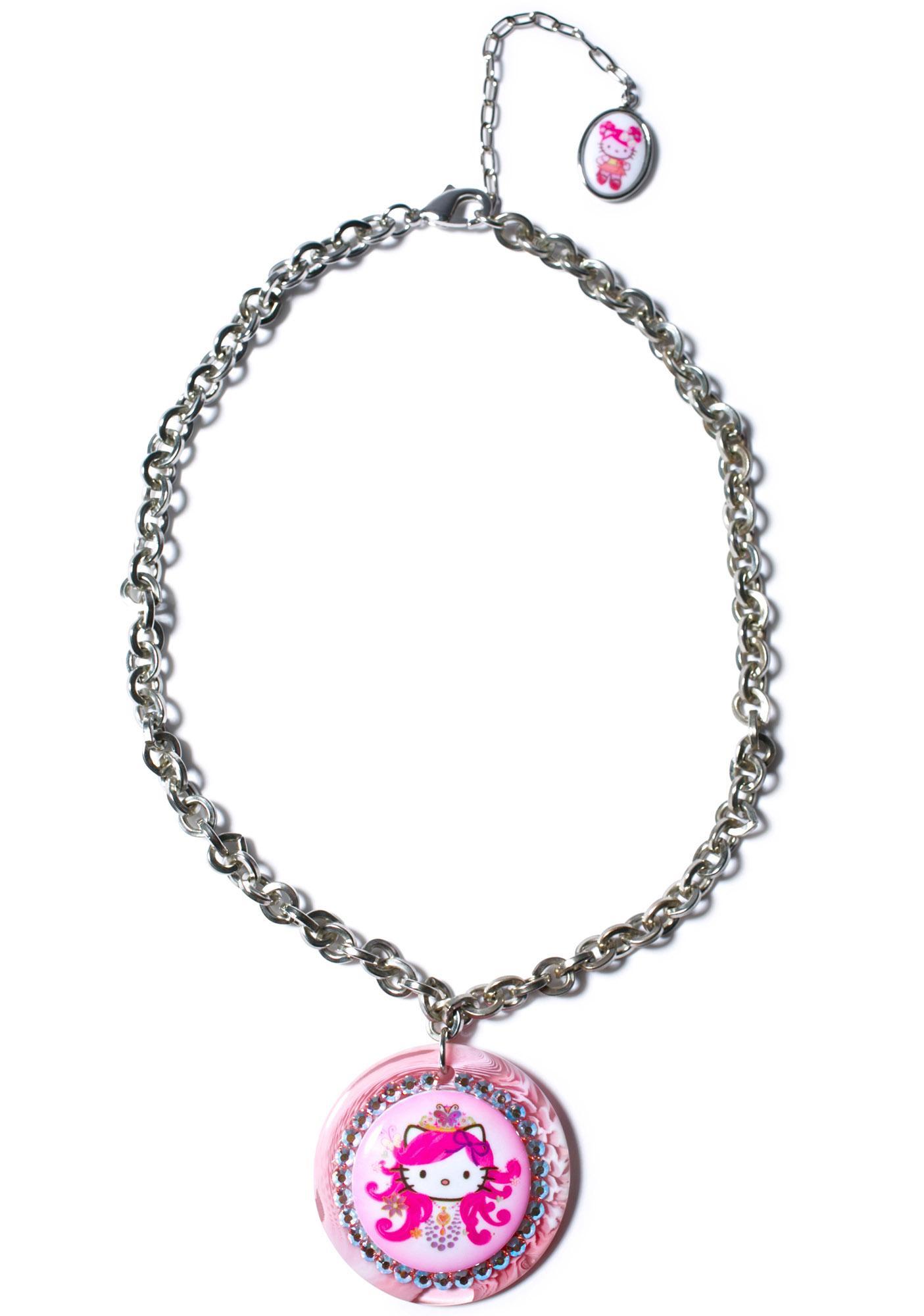 Tarina Tarantino Hello Princess Chain Necklace