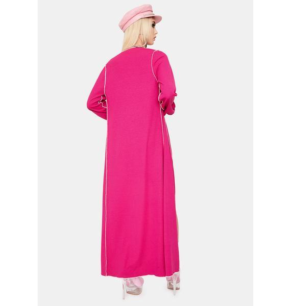 Serve Looks Mini Dress And Kimono Set