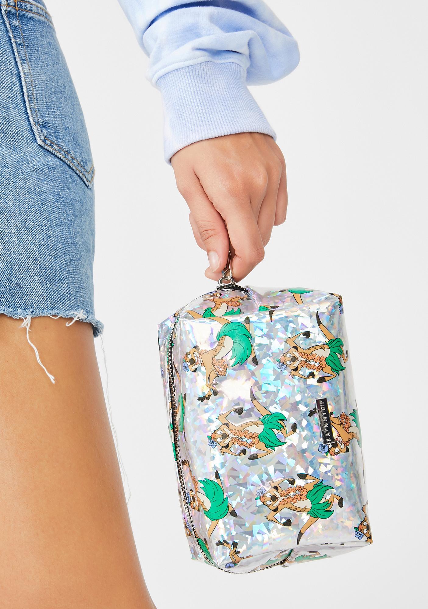 Skinnydip X Disney Timon Makeup Bag