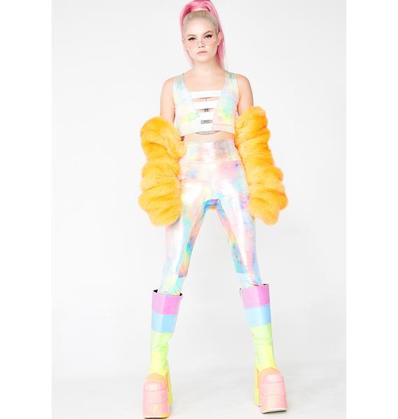 MolliPop Glow Mystic Tie Dye Leggings