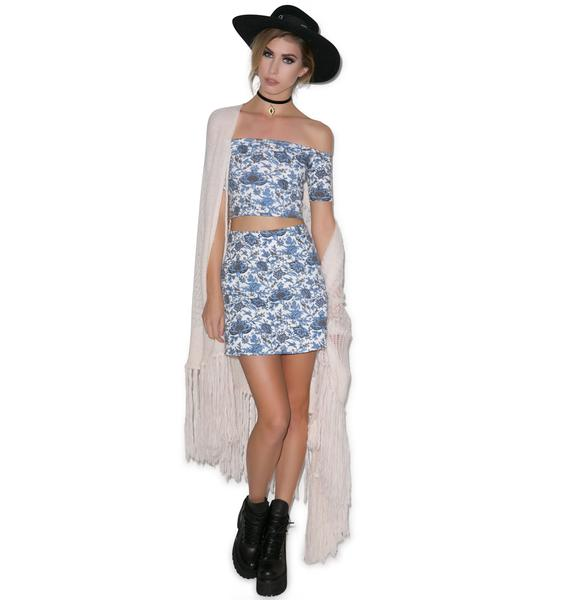 Motel French Kelso Annie A-Line Skirt