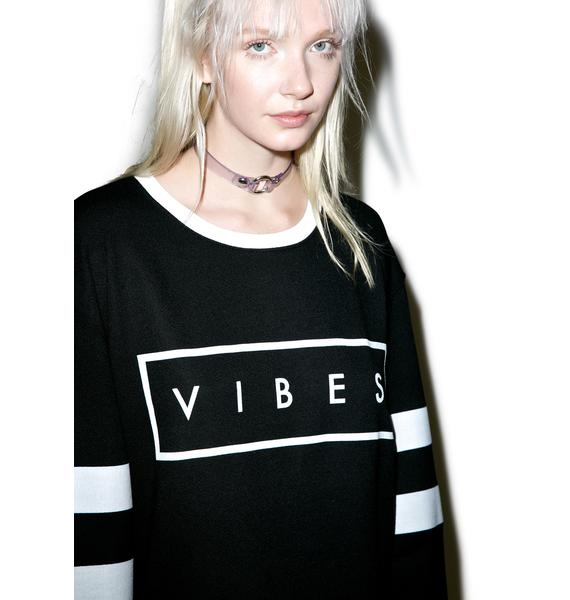 MeYouVersusLife Vibes Crewneck Sweatshirt